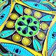 Order Mandala with tassels 'Emerald' decorative plate. Art by Tanya Shest. Livemaster. . Plates Фото №3