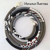 Lariats handmade. Livemaster - original item Lariat beaded