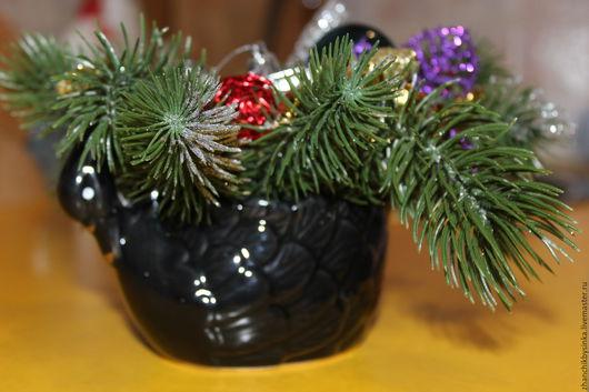 Новый год 2017 ручной работы. Ярмарка Мастеров - ручная работа. Купить Новогодний лебедь. Handmade. Комбинированный, декор для интерьера