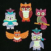 Сувениры и подарки handmade. Livemaster - original item glamorous owl.. Handmade.