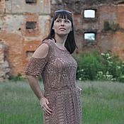 Одежда handmade. Livemaster - original item Dress knitted letneye