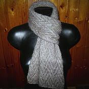 Scarves handmade. Livemaster - original item Men`s knitted scarf. Handmade.