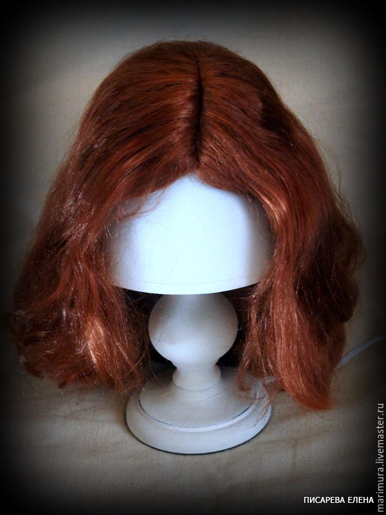 Как сделать парик для куклы с волосами