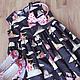 Одежда для девочек, ручной работы. Ярмарка Мастеров - ручная работа. Купить Платье ПРИНЦЕССА И ЕДИНОРОГ. Handmade. Разноцветный, единорог