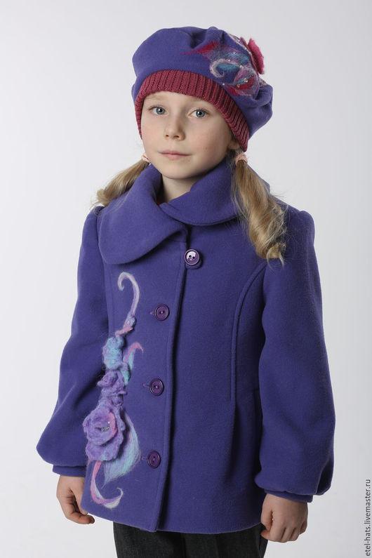 Одежда для девочек, ручной работы. Ярмарка Мастеров - ручная работа. Купить Пальто для девочки Ирис. Handmade. Пальто, пальто для девочки