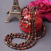 Necklace handmade. Livemaster - original item Necklace of tourmalines of the
