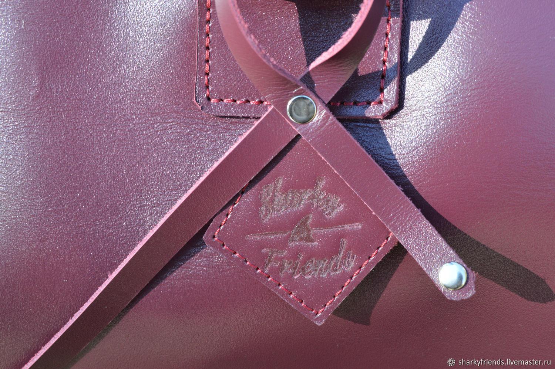 a30d7d29e2d0 Женские сумки ручной работы. Брендовый кожаный саквояж 'Италия' из натуральной  кожи.