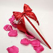 Свадебный салон ручной работы. Ярмарка Мастеров - ручная работа Свадебные кулечки для лепестков. Handmade.