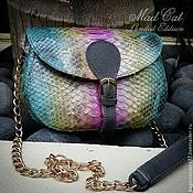 Сумки и аксессуары handmade. Livemaster - original item Handbag made of genuine Python leather. Handmade.