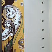 Для дома и интерьера ручной работы. Ярмарка Мастеров - ручная работа Роспись зеркал. Климт. Совы. Роспись мебели. Handmade.