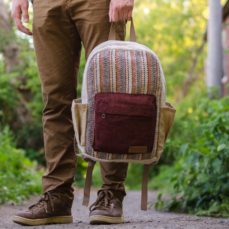 Backpack made of hemp Thamel, Backpacks, Nizhny Novgorod,  Фото №1