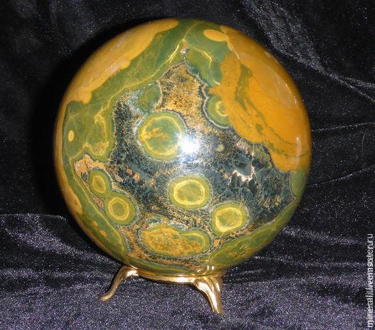 """Фен-шуй ручной работы. Ярмарка Мастеров - ручная работа. Купить шар из камня """" Планета КУ"""". Handmade. Коричневый"""