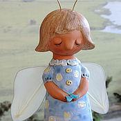 """Для дома и интерьера ручной работы. Ярмарка Мастеров - ручная работа """"Девочка-бабочка"""". Handmade."""