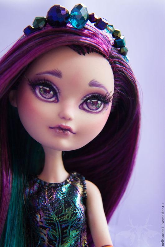 Коллекционные куклы ручной работы. Ярмарка Мастеров - ручная работа. Купить ООАК Рейвен из Игр Драконов. Handmade. Тёмно-фиолетовый