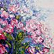 Пейзаж ручной работы. Туман. K&ART. Ярмарка Мастеров. Кустовые розы, белоснежный интерьер