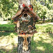 Дача и сад handmade. Livemaster - original item Birdhouse Dense forest. Handmade.