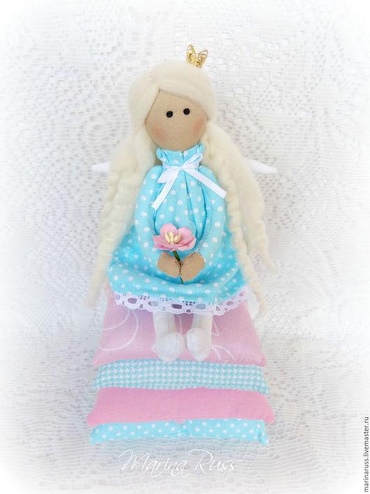 Куклы Тильды ручной работы. Ярмарка Мастеров - ручная работа. Купить Принцесса на горошине. Handmade. Тильда, интерьерная игрушка
