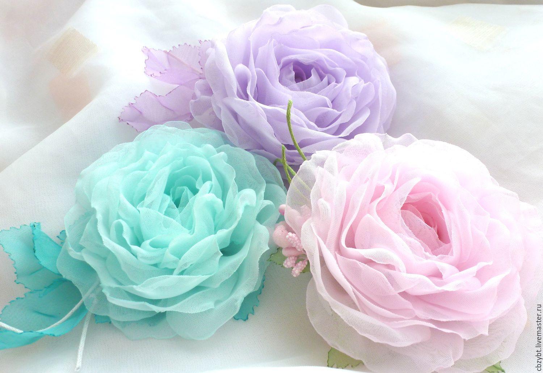 Картинки из ткани цветы