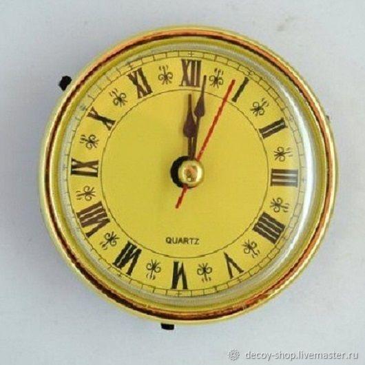 Built-clockwork - 5 types, Decor for decoupage and painting, Serpukhov,  Фото №1