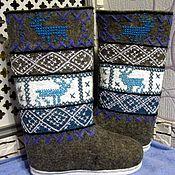 Обувь ручной работы handmade. Livemaster - original item Boots on the sole