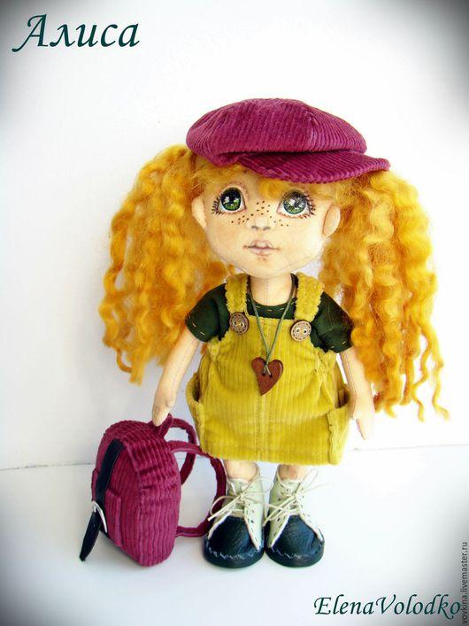 Коллекционные куклы ручной работы. Ярмарка Мастеров - ручная работа. Купить Рыжее солнышко Алиса. Handmade. Рыжий, рыжая девочка