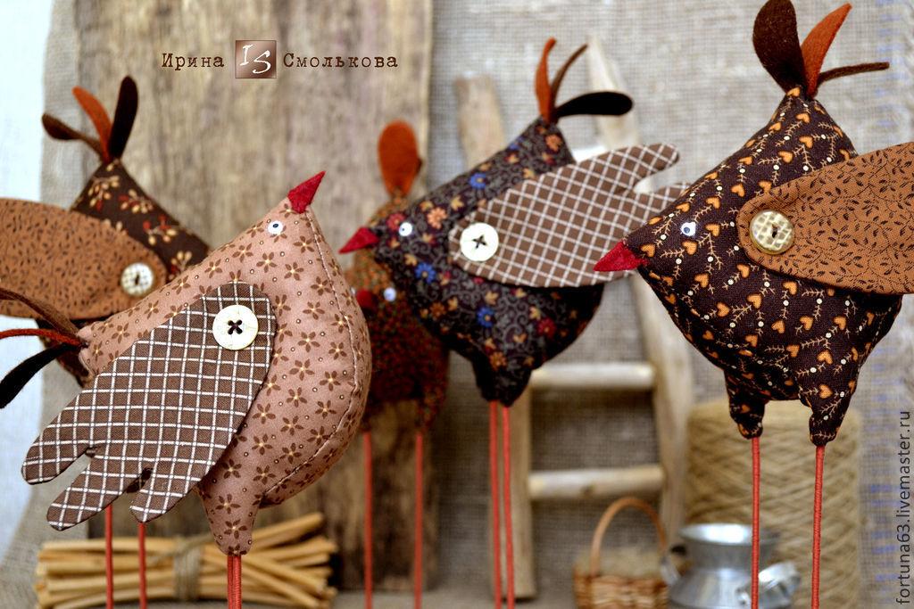 Сувениры из текстиля своими руками