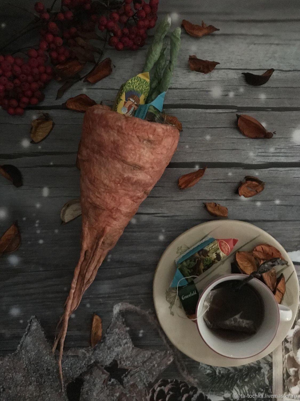 """""""Морковка» (конфетница) на интерьерная и декоративная игрушка, Кукольная еда, Зеленоград,  Фото №1"""
