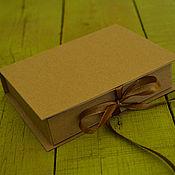 Сувениры и подарки ручной работы. Ярмарка Мастеров - ручная работа Крафт-коробочка для упаковки. Handmade.