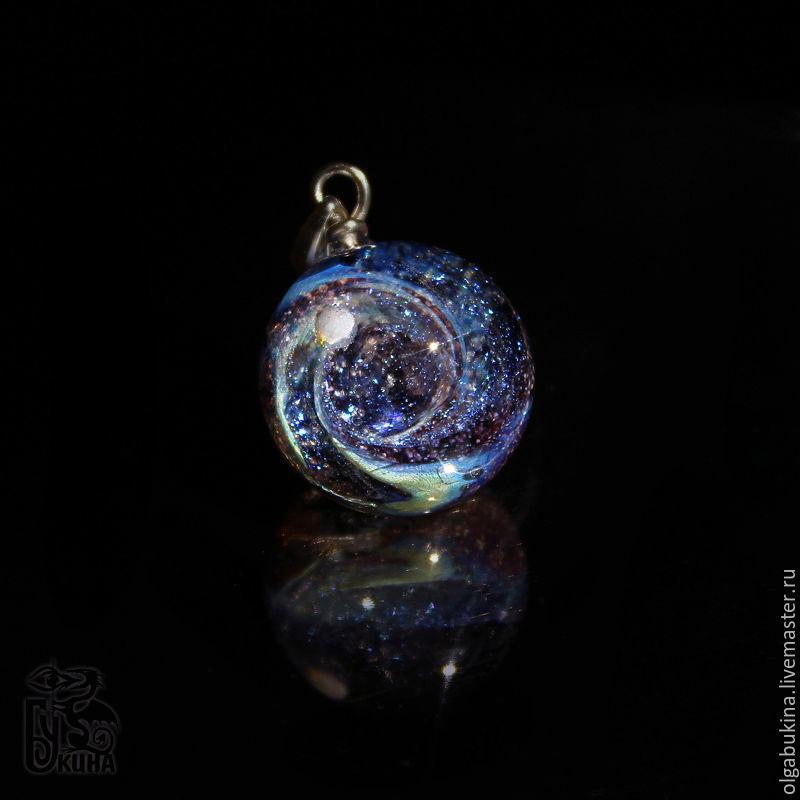 Galaxy Glass Pendant