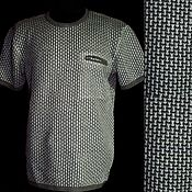 Мужская одежда handmade. Livemaster - original item 100%linen T-shirt Comfort with pocket