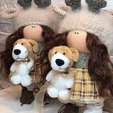 Куклы и игрушки. Ярмарка Мастеров - ручная работа Кукла текстильная. Handmade.