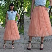 Одежда ручной работы. Ярмарка Мастеров - ручная работа юбка- пачка из фатина (шопенка). Handmade.