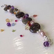 Украшения handmade. Livemaster - original item Bracelet of Labrador