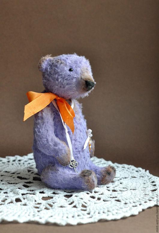 Мишки Тедди ручной работы. Ярмарка Мастеров - ручная работа. Купить Лавандовый сон. Handmade. Фиолетовый, подарок на любой случай