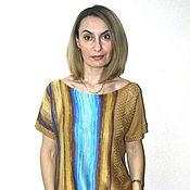 """Одежда ручной работы. Ярмарка Мастеров - ручная работа Кофта """"Вертикальная полоска"""". Handmade."""