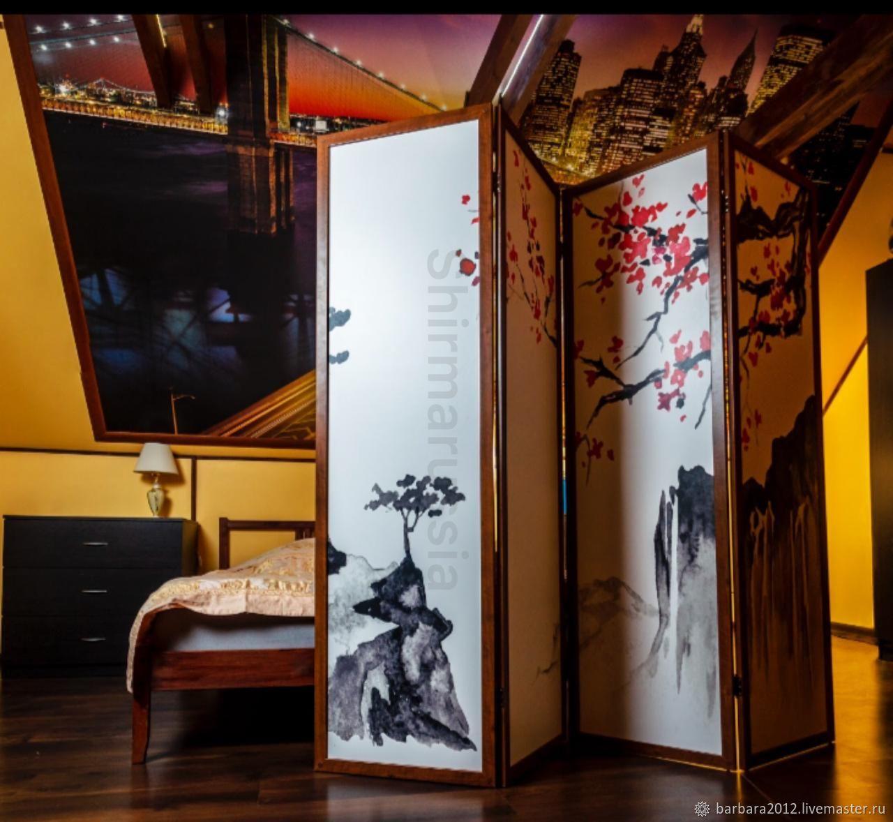 Японская сакура, Ширмы, Москва,  Фото №1