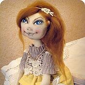 Куклы и игрушки ручной работы. Ярмарка Мастеров - ручная работа Мелисса. Интерьерная авторская кукла.. Handmade.