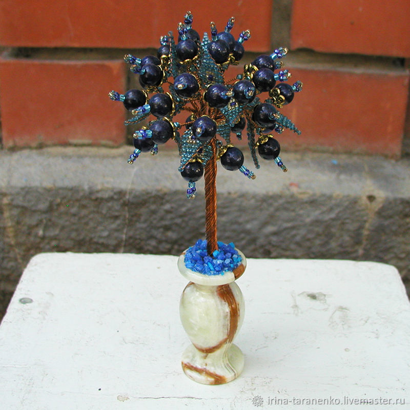 Tree of lapis lazuli 'lapis Lazuli love», Trees, Moscow,  Фото №1