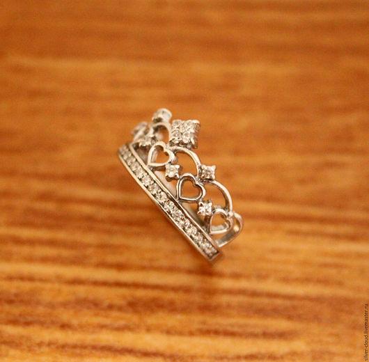 Кольца ручной работы. Ярмарка Мастеров - ручная работа. Купить Серебряное кольцо Корона, серебро 925. Handmade. Серебряный, серебро