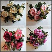 Пионовидная роза 7 голов (В)
