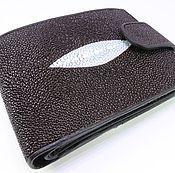 Сумки и аксессуары handmade. Livemaster - original item Wallet leather Stingray IMC0026K. Handmade.