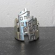 Украшения handmade. Livemaster - original item The ring is made of 925 sterling silver IV0032. Handmade.
