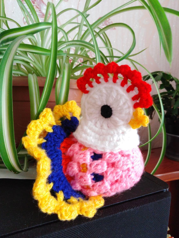 курочка с яичком, Мягкие игрушки, Борисоглебск,  Фото №1