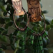 """Украшения ручной работы. Ярмарка Мастеров - ручная работа Серьги """"Хетисс"""". Handmade."""