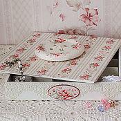 Для дома и интерьера handmade. Livemaster - original item Great box for crafts, the Gentle. Handmade.