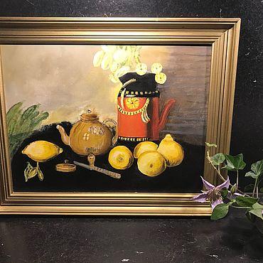 Vintage handmade. Livemaster - original item Painting