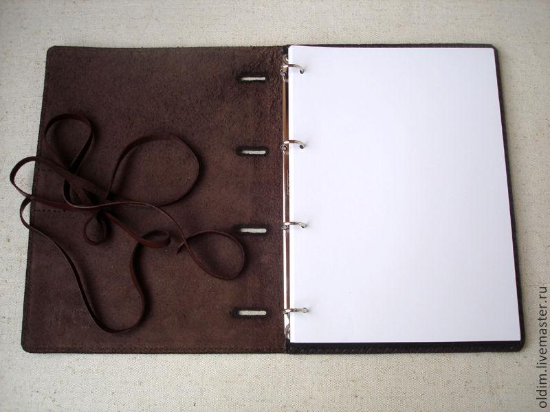 Как сделать обложку для тетради с кольцами
