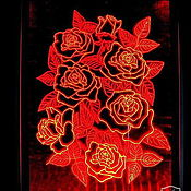 Картины и панно handmade. Livemaster - original item Roses. painting with lights. Handmade.