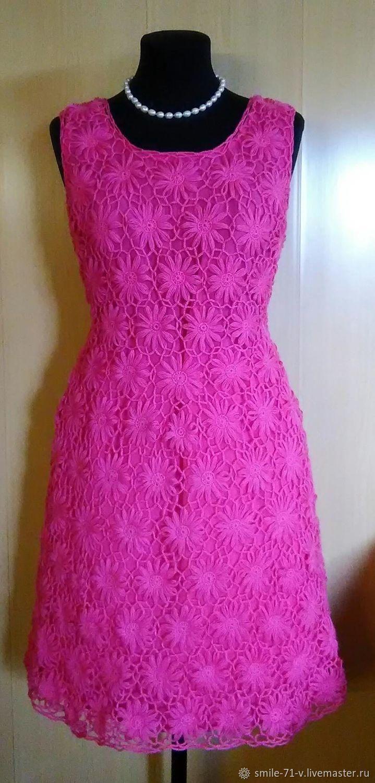 Платье Розовые ромашки, Платья, Кудымкар,  Фото №1
