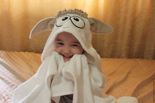 Полотенце с капюшоном `Овечка`
